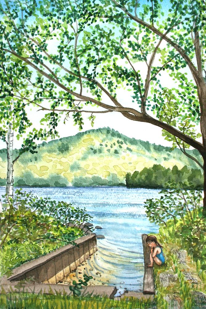 Boat Slip Clearwater Art for Sale