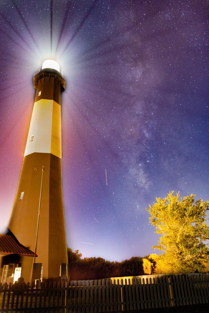 Tybee Light with Milky Way