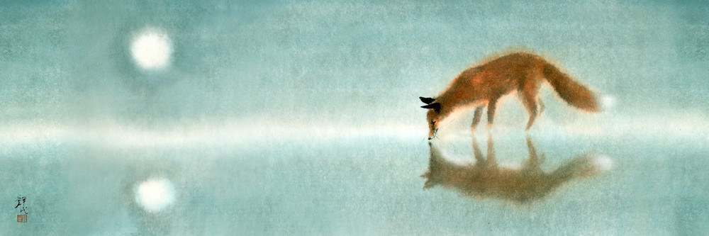 Fox Paintings 001 Photography Art   Cheng Yan Studio