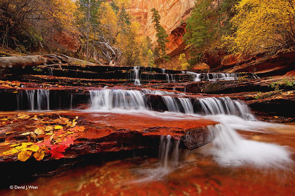 Cascade Falls in Autumn