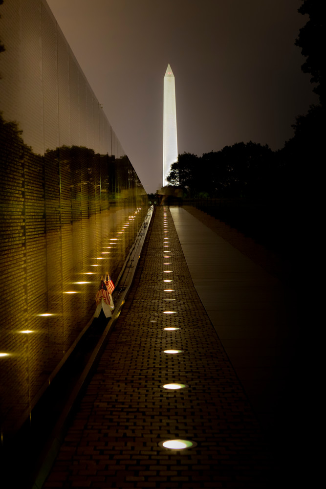 some gave their all, Viet Nam Memorial, Washington Monument