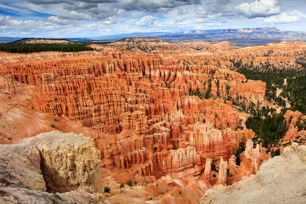 Bryce Canyon, Utah, hoodoos.