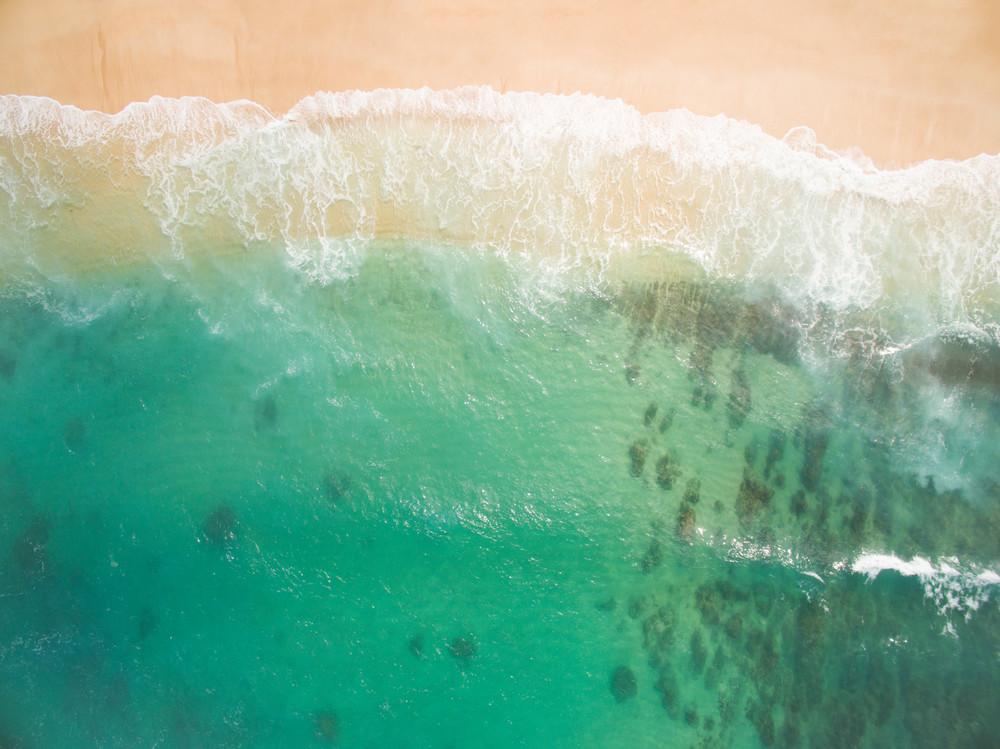 Above Freddys, Hawaii art print by Brad Scott