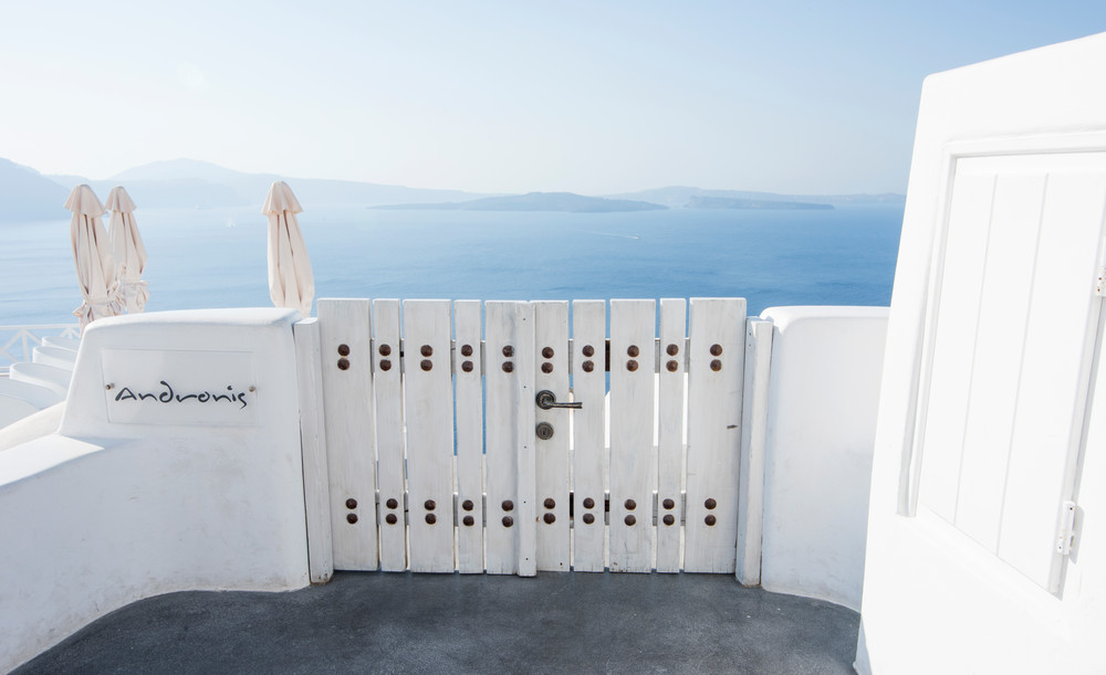 Andronis, Santorini Greece Fine Art Print by Brad Scott