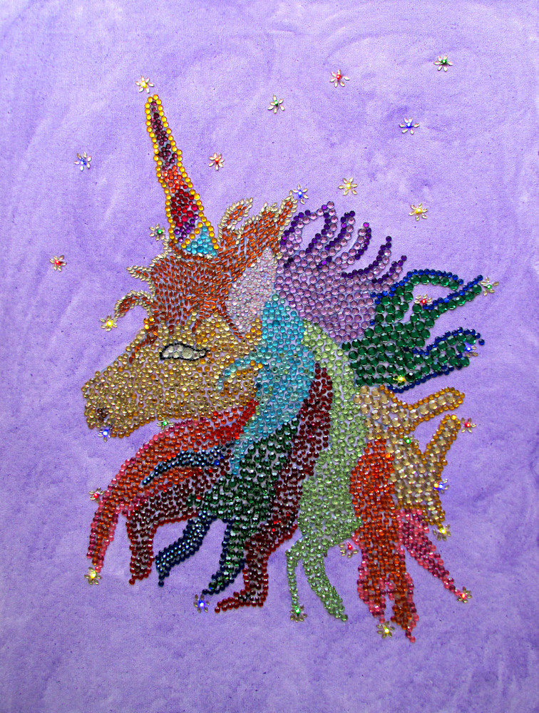 Sparkling Light Unicorn