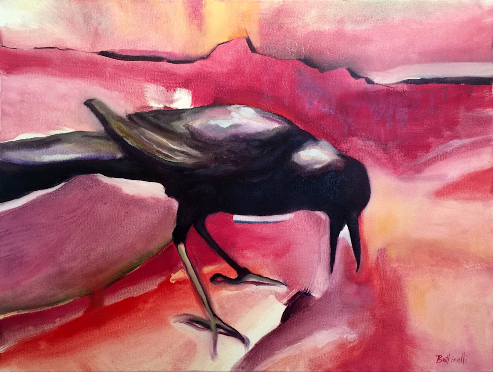 Crow I - custom size print