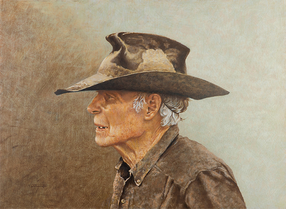 Raymond Wattenhofer Original Paintings, Drawings & Prints of Cowboy Life.