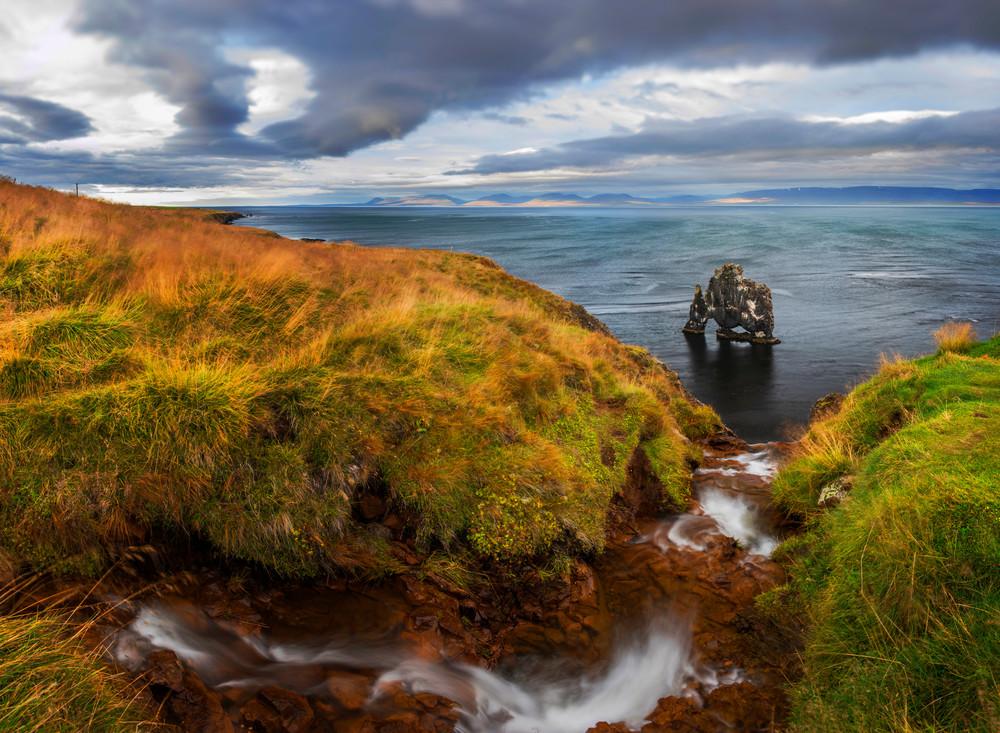 Hvitserkur Falls, Iceland Picture by Brad Scott