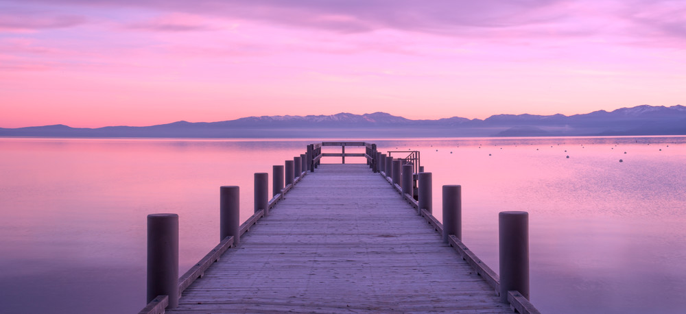 Morning Glory, Lake Tahoe Photo art print