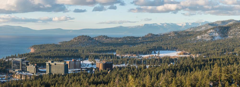 Lake Tahoe Casinos photography print