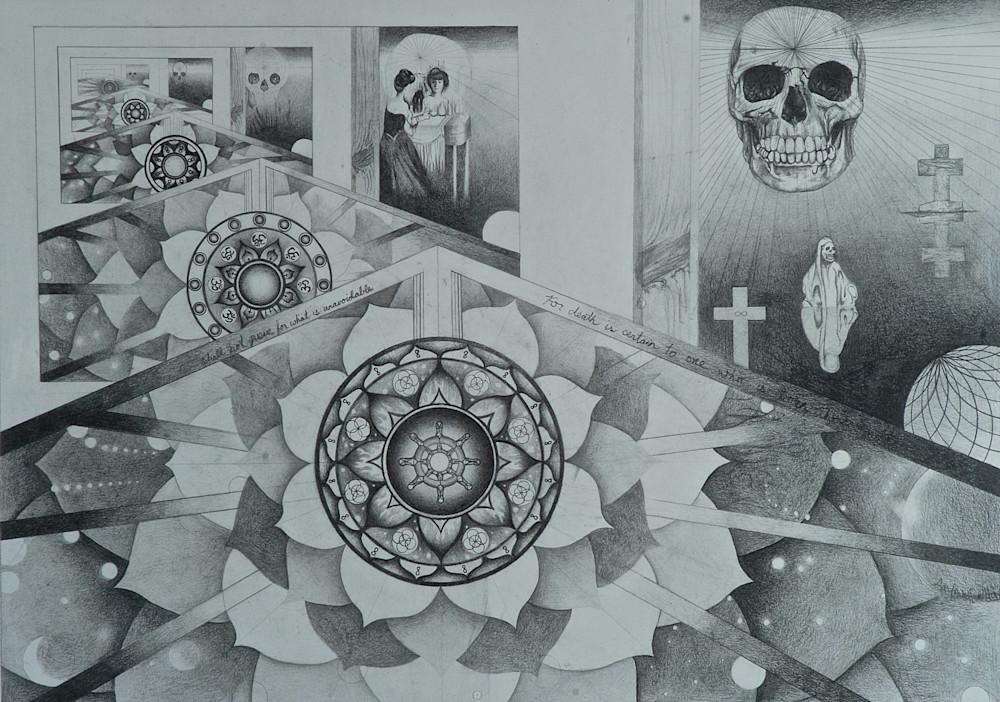 Death as a Mandala and a Fractal