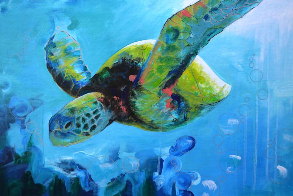 Wise Ocean Traveler Art | Gnarwhal Designs