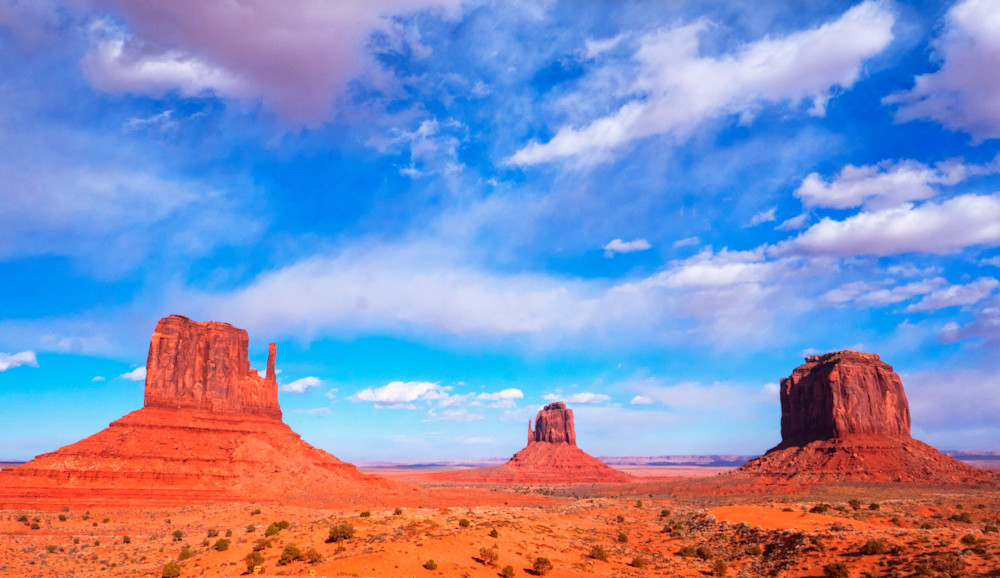 Epic Mesas, Monument Valley Fine Art Print