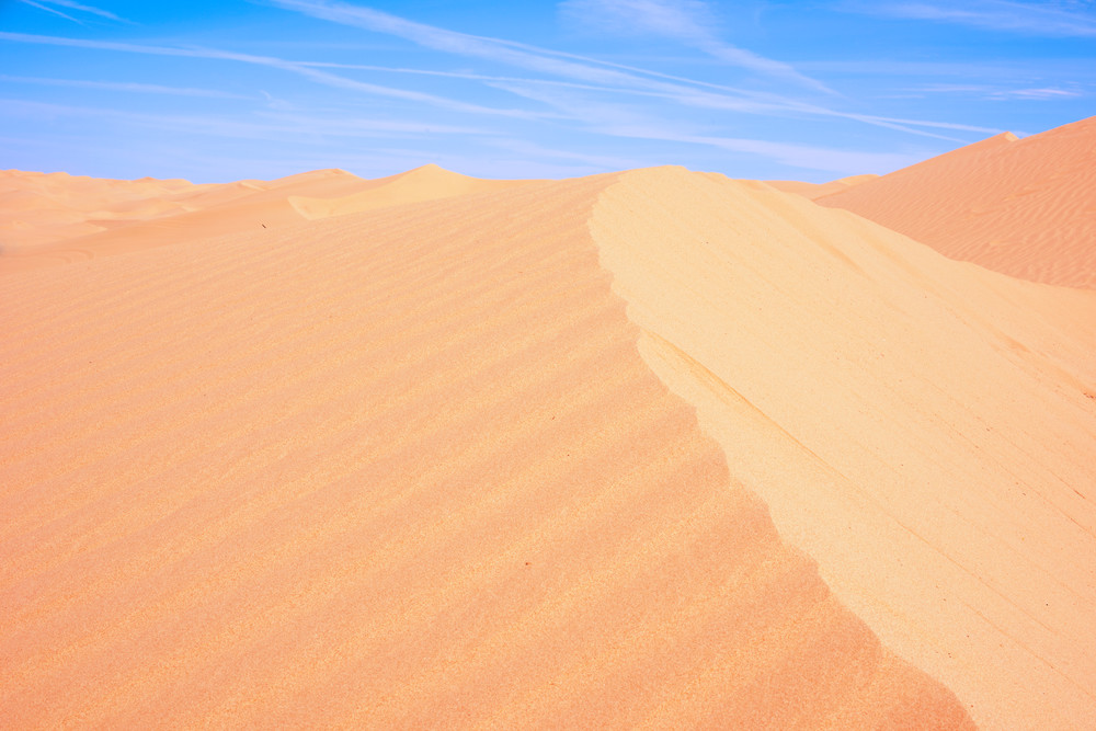 Shifting Dunes, Sand Dunes Fine Art Photography Print