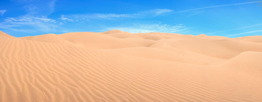 Endless Quest, Imperial Sand Dunes Panoramic Photo Print