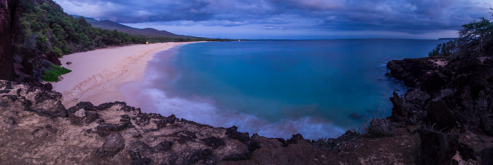 Big Beach Maui Panorama Fine Art Print