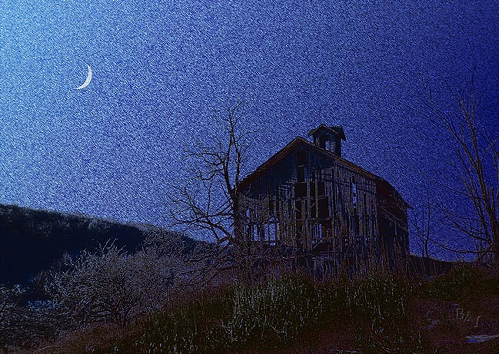 Catskill Moonrise 2 Art | ArtfulPrint