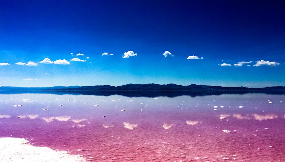 Blues and Pinks 1-BSouth, Stansbury-Island, Great-Salt-Lake, Utah