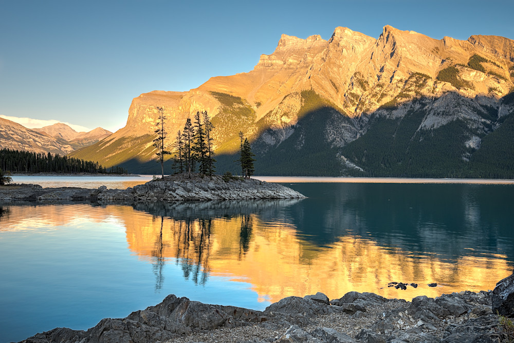 Lake Minnewanka Photograph for Sale as Fine Art.