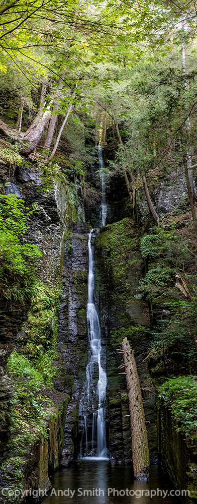 fine art photograph of Silverthread Falls
