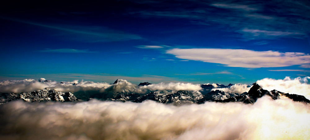 Above the Clouds-BSouth, New-Zealand, helicopter-tours, sky, mountains, milford-sound