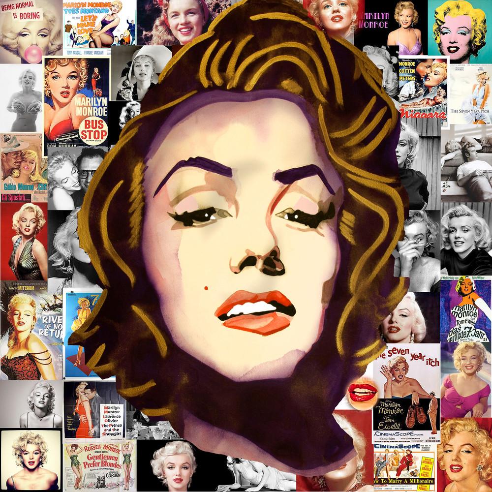 Marilyn Pop Art | William K. Stidham - heART Art