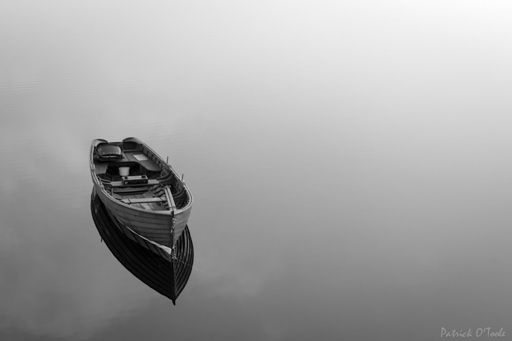 Boat On Lake Photography Art | Patrick O'Toole Photography, LLC