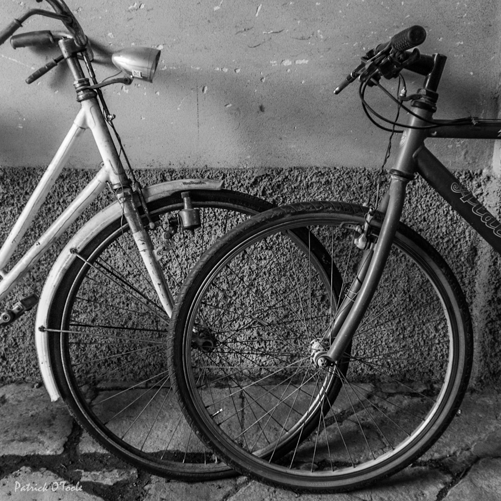 Kissing Bicycles Photography Art | Patrick O'Toole Photography, LLC