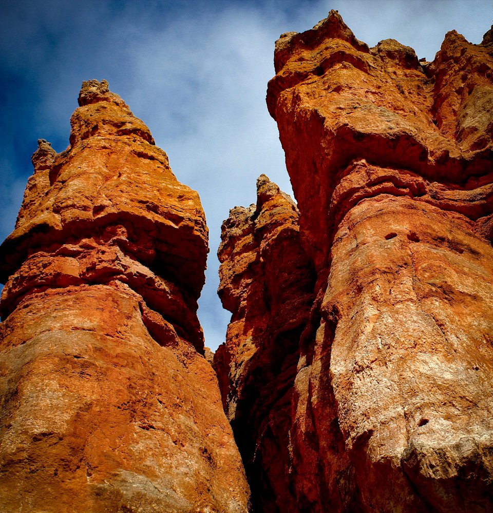 Sandstone Turrets-BSouth, Bryce-Canyon, Utah, Canyon, Mountains, Earth
