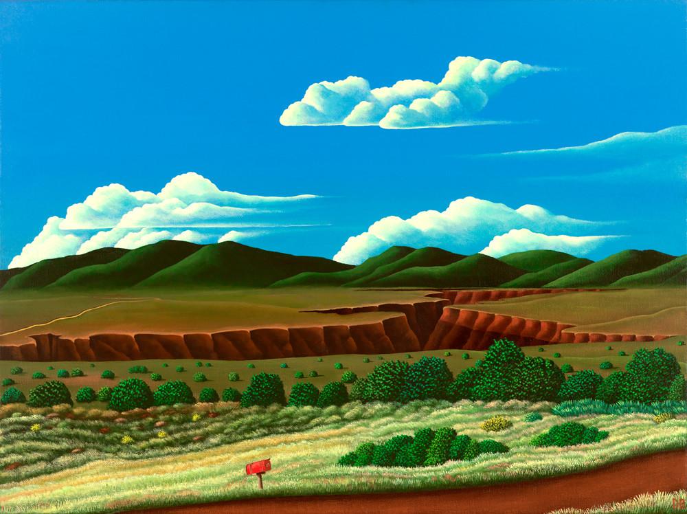 Red Mailbox Art | Fine Art New Mexico