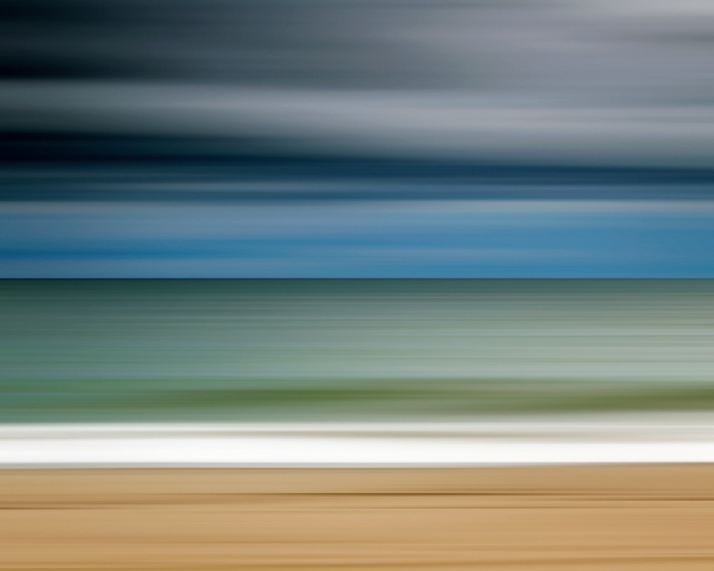 """Ocean Storm"" - Martha's Vineyard Abstract Beach Wall Art"