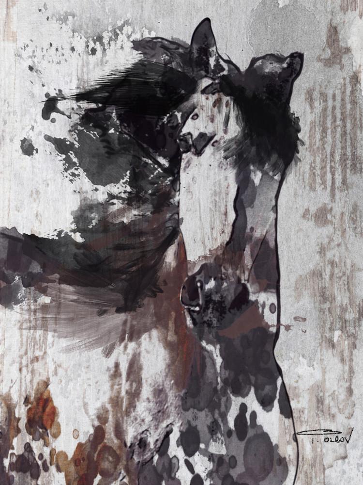 Gorgeous Emaus Brown Farmhouse Rustic Horse Art, farmhouse art, horse painting