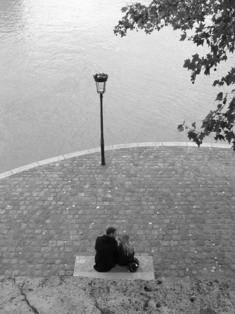 Just The Two Of Us In Paris Photography Art | Photoissimo - Fine Art Photography