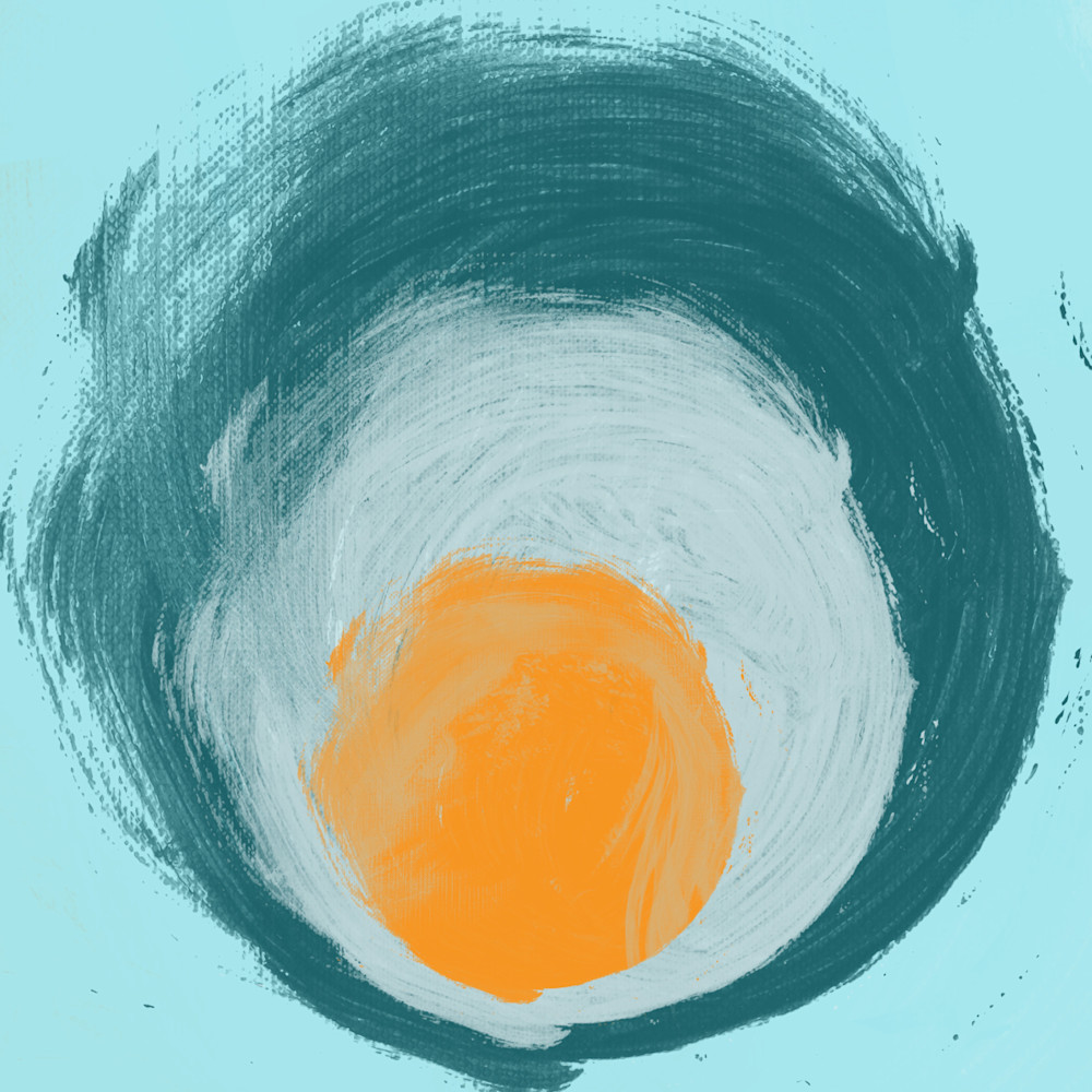 ORL-826 aqua blue orange elements