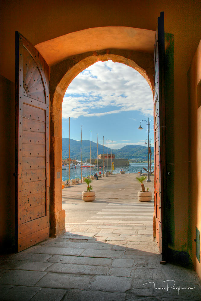 Porta del Cielo -Elba, Italy - Doors, fine art photograph for sale