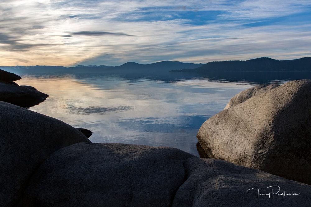 Namaste - Lake Tahoe fine art photograph by Tony Pagliaro