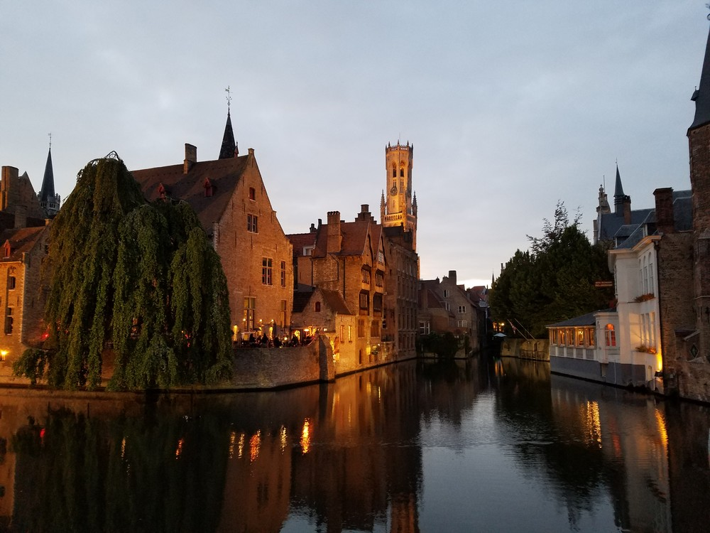 Beauty Along The Dijver Canal #2 Photography Art | Photoissimo - Fine Art Photography