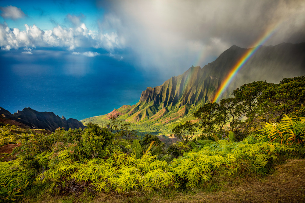 """Kalalau Valley Rainbow"""
