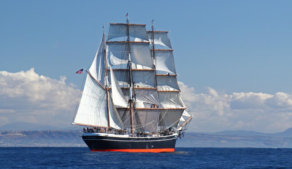 Star of India at Sea