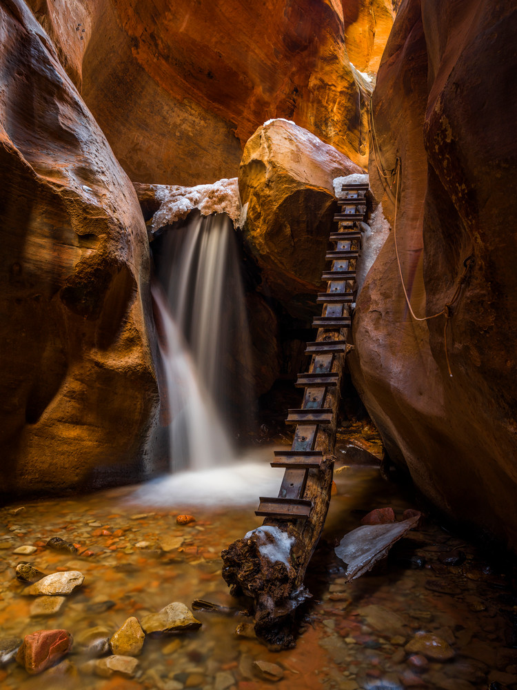 Kanarra Creek Falls (Vertical)