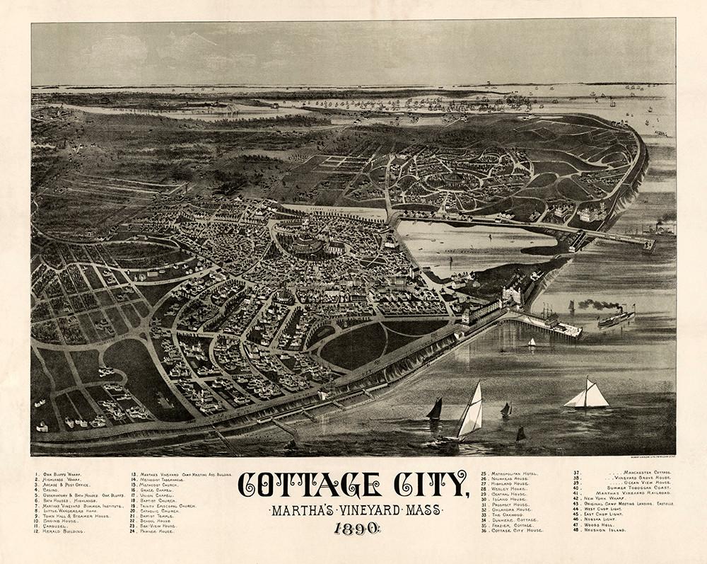 Cottage City, MA 1890