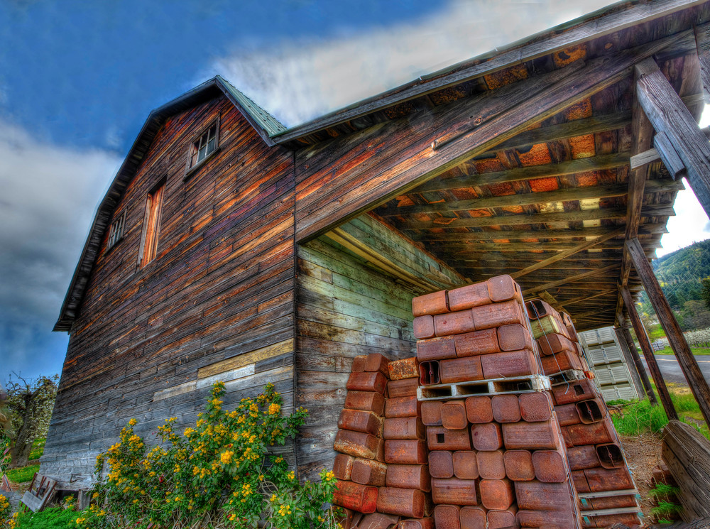 Old Country Barn photograph for sale as art by Mike Jensen