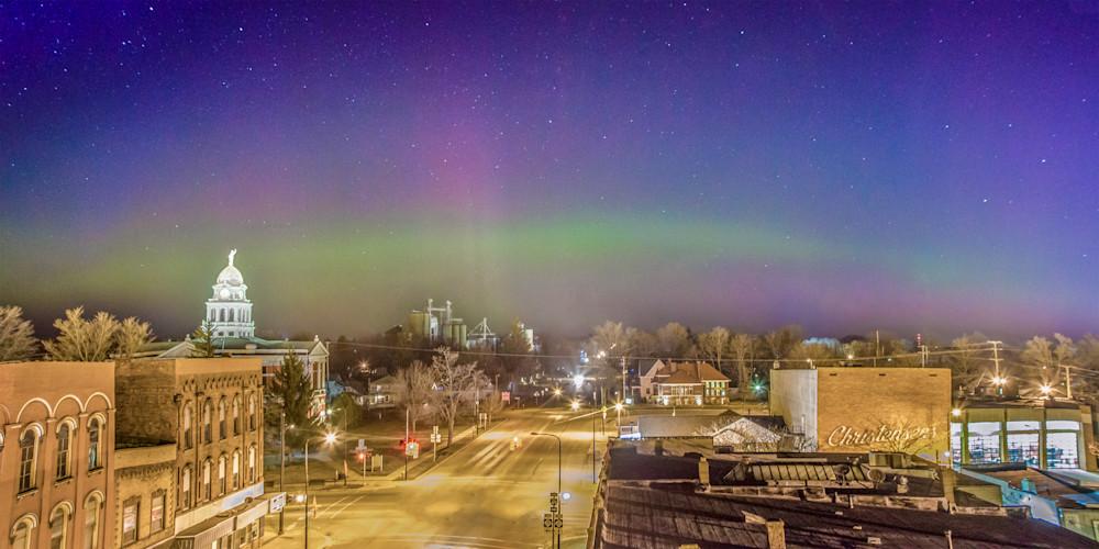 Aurora Over Charlotte, MI