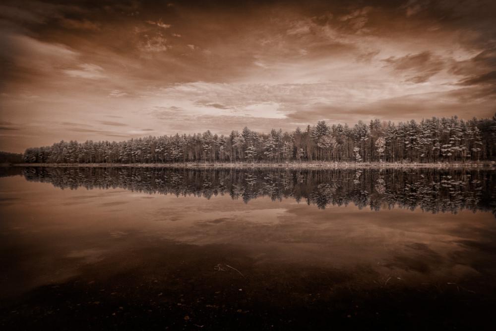 Summer Marsh Infrared