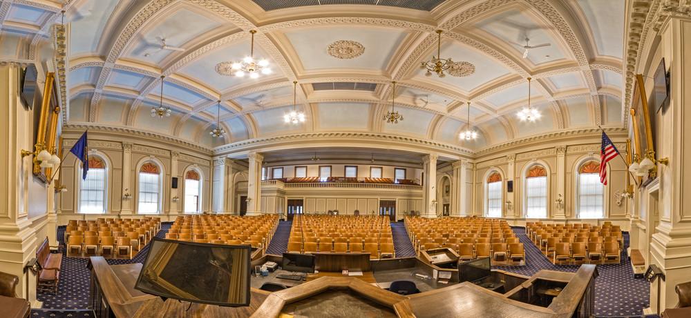 A Pano of the New Hampshire Senate Chambers