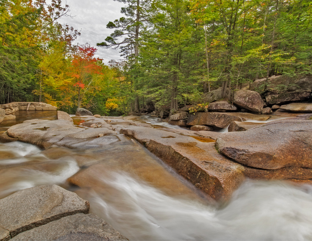 Dummerston, Vermont's Stickney Brook in Fall