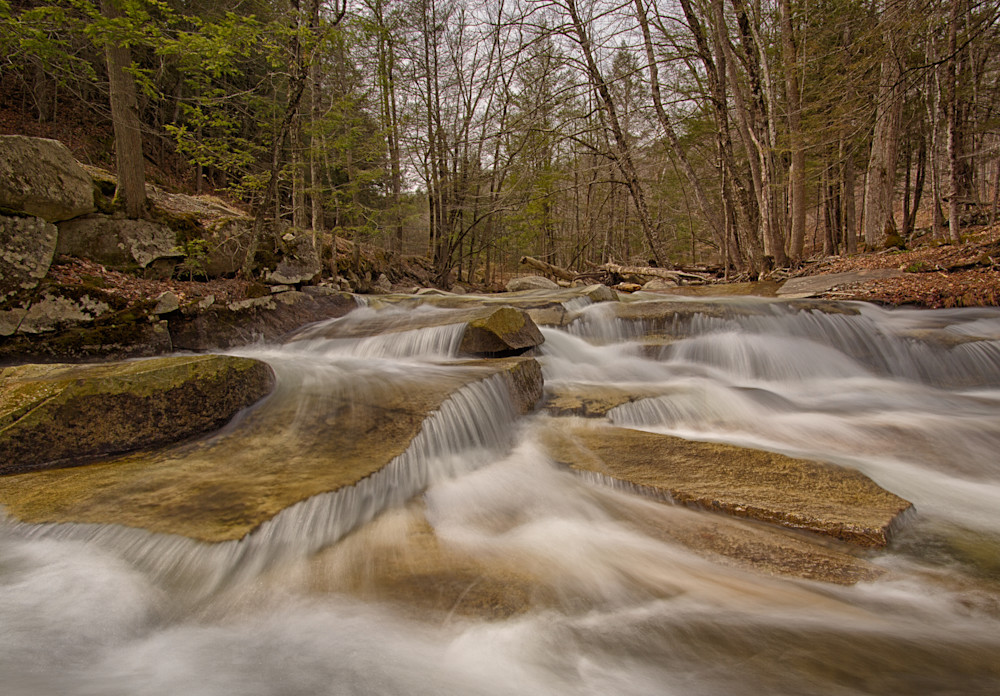 Stickney Brook Early Spring flow