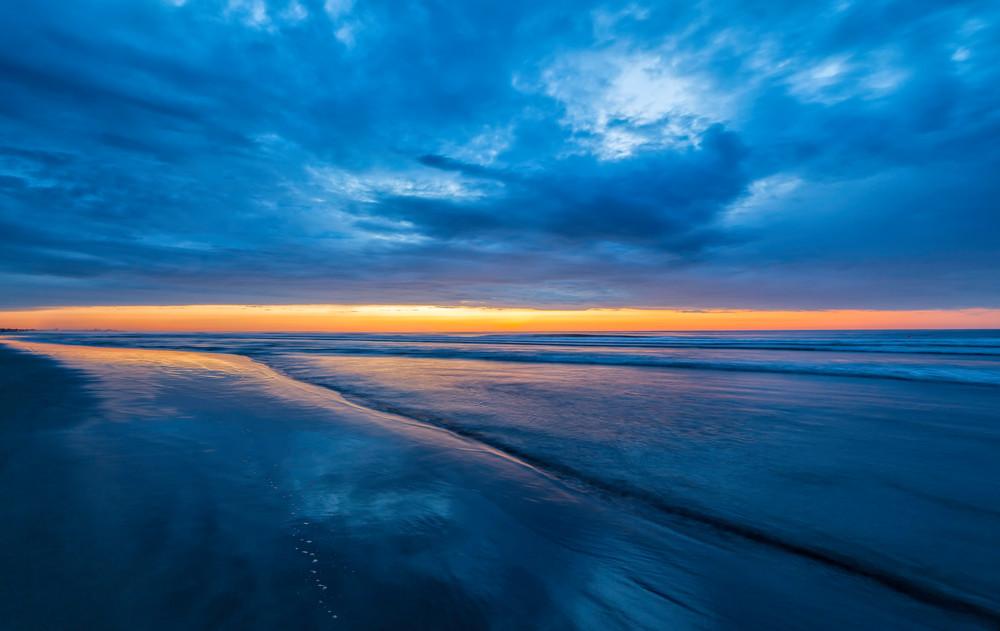 Ogunquit Blues at Sunset