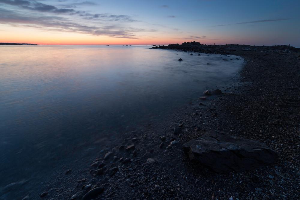 Summer sunset at Odiorne