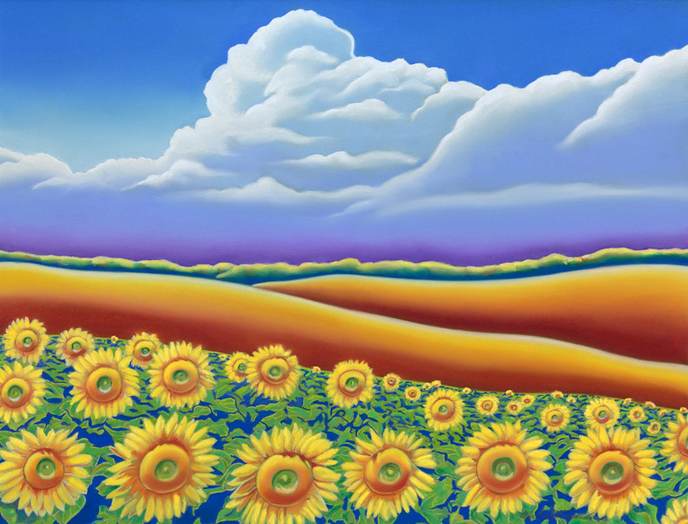 Sunflower Field 7 by Michael Duane